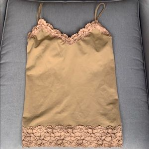 Laundry by Shelli Segal Lace Tank Top Cami S/M